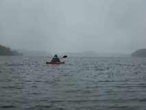 Action: Toni Towle - Misty Lake Kayaker