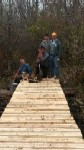 John Stone Memorial Nature Trail Bridge Completed