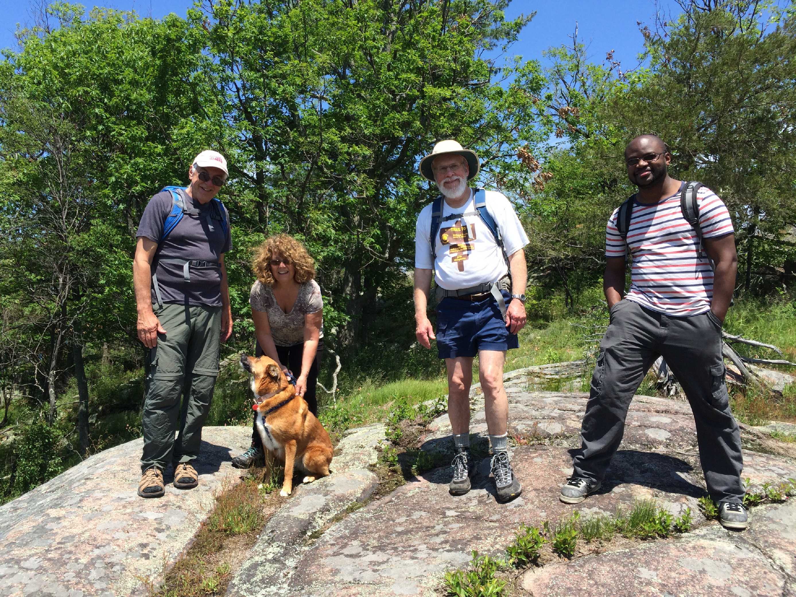 Dog And Family Hike At Wellesley Island State Park Jun 10 2017 We Had A Perfect Sunny Day With Mild Temperatures The Trails Continue To